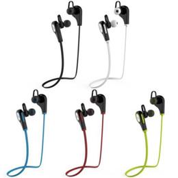 Trasduttore auricolare q9 online-NOVITA 'Q9 Cuffia Bluetooth senza fili Bluetooth Cuffie auricolari per cuffie con microfono MIC include scatola al minuto