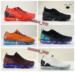 Wholesale dragon knit - 2018 Vapormax 2.0 Flying Knit Dragonball Evolution Walking Shoes Athletic Dragon Ball Son Goku 2019 Mens Trainers Sneakers Casual Shoes