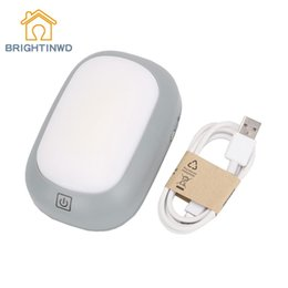 Wholesale touch sensor bulb - BRIGHTINWD Portable Camping Lights Touch Sensor Bedside Night Light Magnet Desk Lamp Outdoor Hiking Hanging Tent Lantern 18650