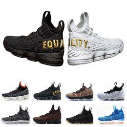 27c4efdd78ee0d mens shoes size 15 Sconti nike Lebron james 15 New 15s mens Scarpe da basket  Cenere