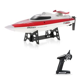 Wholesale H Boat - GoolRC GC001 2.4G Water Cooling System Self-righting 30km h High Speed Racing RC Boat