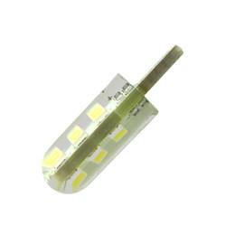 Ampoules de dôme intérieur en Ligne-W5W 6 LED éclairage intérieur de la voiture 5630 5730 LED lampe 12V 194 501 bulbe wedge parking dôme blanc clair Auto Turn Lampes latérales 12V