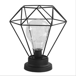 Canada Style de batterie Europe du Nord Métal Arts Veilleuses Lampe LED Cuivre Étanche Chaîne Lumières Chambre Décoration Éclairage Offre