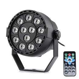Affichage des étapes en Ligne-Lightme RGBW 12 LEDs Affichage numérique Par Light Stage lampe avec télécommande moderne quatre modes de contrôle d'éclairage commercial livraison gratuite