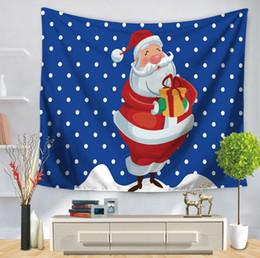 tapices de calidad Rebajas 1 UNIDS de alta calidad decoración de navidad tapiz de pared 17 estilo de impresión multifunción mantel hoja de cama para el envío suppise envío gratis