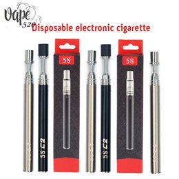Wholesale china ceramic factory - China Manufacturer factory price 5S C1 C2 Vape pen Disposible Electronic Cigarette for Thick Oil with ceramic coil