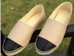 panni pvc Sconti 2018 nuove donne casuali scarpe di tela primavera Espadrillas donna di alta qualità Tessuto scarpe moda scarpe da passeggio Two Tone scarpe da ginnastica Lady Canvas
