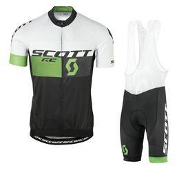 2018 New men tour de france cycling Jersey SCOTT pro team summer short  sleeve mountian bike clothing road bicycle sportswear 92837Y 34f7e37cb