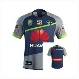 Wholesale Raiders Jerseys - 2018 NRL JERSEYS CANBERRA RAIDER S size S-XXXL NRL JERSEYS CANBERRA RAIDER S Away Rugby Chiefs Super CRUSADERS QUEENSLAND COWBOYS rugby