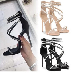 a61df470c Fashion cross strap high-heeled sandals female summer with waterproof  platform wild clubs sexy rhinestones sandals open-toed Rome shoes