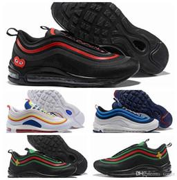 2018 Air Ultra 17 Se 97 Summer Vibes Scarpe da corsa per uomo 97s Bullet  Bee Nero Rosso Mens Sport scarpe da ginnastica del progettista Sneakers  Chaussures ... 97cf027ed08