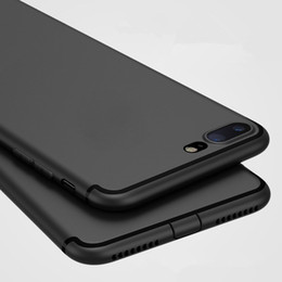 Wholesale Iphone 5s Silicon Cases - Luxury Back Soft Matte Silicon Cute Case for iPhone 8 6 6s Plus 5 5s SE Case Full Cover For iPhone 7 7 Plus Phone Cases
