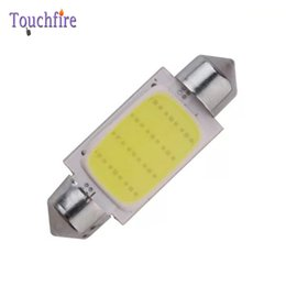 Wholesale Super Bright Led Reverse Lights - 10Pcs High Quality 31 36 39 41mm COB 12 Chips DC 12V LED Car Dome Reading Lights Auto Interior Lamps Super Bright Bulbs Power
