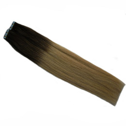 Argentina T2 / 613 Indian Remy Tape Extensiones de cabello 100g Sra. Apply Tape Adhesive Skin Weft Hair 24