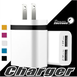 Canada NOKOKO Chargeur mural universel double ports USB Adaptateur portable avec prise 2.1A 10W pour iPhone 7 6S Plus iPad Samsung Galaxy Note 8 Offre