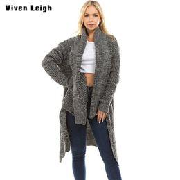 Thick Warm Irregular Sweep Long Female Sweater Oversized Knitting Cardigan  Sweaters Women Long Jacket Coats 2018 Winter Cardigan 3fb44cc6b