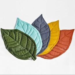 2019 creative feuille d'érable forme couverture de bébé jouer tapis Kid Crawling Carpet enfants décoration de la maison bébé literie poussette couverture ? partir de fabricateur