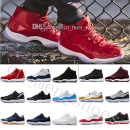 promo code 60877 a566d 2018 Gamma Blau XI Basketball-Schuhe Männer Frauen neue Art und Weise  Sports Schuhe Discount gute Qualität 11 (XI) Bred Concord Space Jam Legend  Turnschuhe