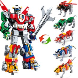1130 Les grands jouets éducatifs pour enfants du roi des Cent-Bêtes, roi du roi Kong, transformant le robot ? partir de fabricateur