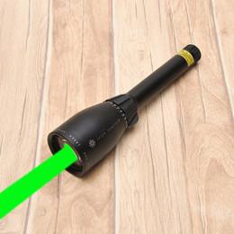 дальний фонарь Скидка 2018-Зеленый лазерный целеуказатель ND3 X50 ND50 междугородной охоты лазерный прицел ж / регулируемый прицел ночного видения фонарик