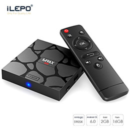 Wholesale Mini Tv Dual Core - KD18.0 M96X Mini Android 7.1 TV Box 2GB 16GB Amlogic S905X Bluetooth 4.1 Dual Wifi Quad Core Smart Media Player MXQ S905W X96 Mini S912