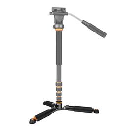 Wholesale Dslr Video Lighting - QZSD Q178 Portable Light Desktop Mini Table Tripod Monopod Base Unipod Support Tripod Stand for DSLR SLR Video Cameras Load 3KG