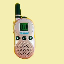 Radios gmrs online-100% Original TDXONE TD-U9 FRS / GMRS Mini Colorido Walky Talky U9 Scan Niños Radio bidireccional Niños Walkie Talkie
