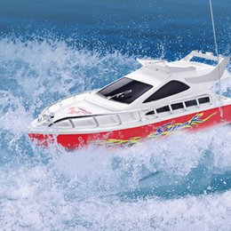 barcos elétricos para crianças Desconto Alta velocidade barco rc super mini desempenho barcos barco de controle remoto elétrico brinquedo para crianças meninos presente de aniversário crianças brinquedos