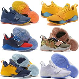 Wholesale free delivery shoes - Free Shipping PG 1 Shoes Top Guality Paul George PG1 Basketball Shoes Discount Sport Sneakers Size 40-46 Fast Delivery