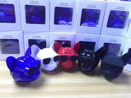 Wholesale control seal - Wireless Speaker Bulldog Bluetooth Speaker Outdoor Portable HIFI Bass Bull dog Speaker Multipurpose Touch Control For Smartphone