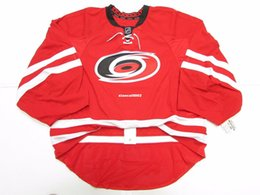 Cheap Custom CAROLINA HURRICANES AUTHENTIC HOME EDGE JERSEY GOALIE CUT 60  Mens Stitched Personalized hockey Jerseys 759a03a03