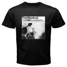 Xl воздушные шары онлайн-2018 Новое прибытие T-ShirtThe Weekend House of Balloons XO Music Show мужская черная футболка SML XL 2XL