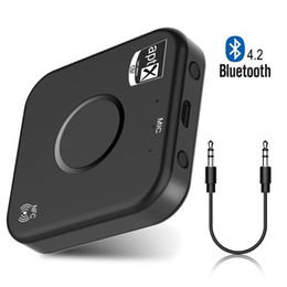 2.1 stereo Promo Codes - Bluetooth Transmitter Receiver 2 in 1 Wireless 3.5mm Portable B7 Audio Adapter Car Kit for TV   Home Stereo System TV PC Car