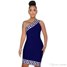 Gros livraison gratuite plus la taille 3XL été femmes africaines 3D imprimé sexy club porter une épaule robe courte partie bodycon robes robe ? partir de fabricateur