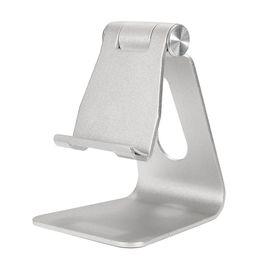 Wholesale Tablet Cradle - Universal Aluminum Table Desk Mount Stand Holder Cradle for Tablet Mobile Phone