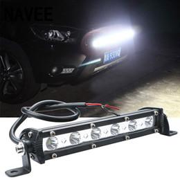 boots-glühbirnen Rabatt 18 Watt Auto LED Arbeitslicht Bar led Chips Wasserdichte Offroad Auto Arbeit Lampe scheinwerfer ATV SUV 6000 Karat Boot Lkw für Jeep
