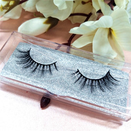 Wholesale Classic Human Hair - Seashine Glitter Packaging 100% Top quality Mink Lashes Extension handmade for Classic Lash Extensions Full lash Strip free shipping