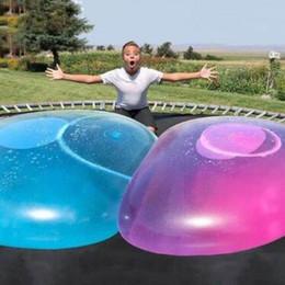 Надувные водные шары онлайн-Удивительный шарик пузыря забавная игрушка наполненный водой воздушный шар TPR для детей взрослых открытый шарик пузыря надувные игрушки украшения партии CCA9989 15 шт