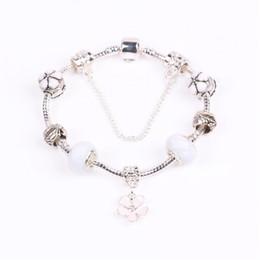 bijoux fshion Promotion AIFEILI Fshion De Luxe Argent Charme Perle De Verre fit pour perles Colliers Fit Bracelets DIY Pulseira Bijoux Cadeau