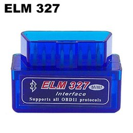 Interfaz elm327 online-ELM 327 Interfaz Bluetooth Auto Escáner Escáner Escáner de Diagnóstico Automático Automóvil Automático Automotriz Mini V2.1 ELM327 OBD2