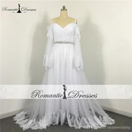 9be051125cc1 Distribuidores de descuento Vestidos De Novia Romanticos Blancos ...