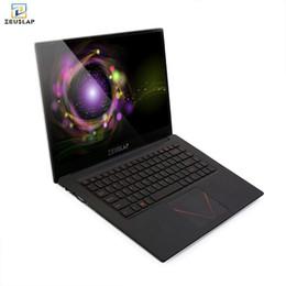 Ноутбук celeron онлайн-ZEUSLAP новый 15,6-дюймовый 6 ГБ оперативной памяти 512 ГБ ssd 1920 * 108P IPS экран Intel Celeron дешевые нетбук ноутбук ноутбук