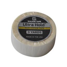 2019 doppelseitige bänder perücken 1pc Ultra Halt Spitze Perücke doppelseitiges Klebeband für Lace Perücke / Reapplication Tape Haarverlängerungen / PU Haarverlängerung / Toupet 3 / 4inch * 3 Yard rabatt doppelseitige bänder perücken