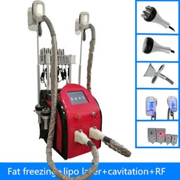 Wholesale Laser Liposuction Machines - High Quality 40k Ultrasonic liposuction Cavitation lipo Laser Slimming Machine Vacuum RF Skin Care Salon Spa Equipment