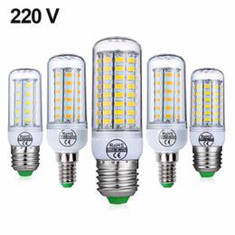 smd führte e27 48 Rabatt E27 E14 SMD 5730 LED Lampe 7W 12W 15W 18W 220V 110V Maislicht LED Birnen Kronleuchter 36 48 56 69 72 LEDs
