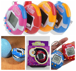Wholesale Game Toys - retail hotsale Retro Game Toys Pets In One Funny Toys Vintage Virtual Pet Cyber Toy Tamagotchi Digital Pet Child Game Kids free shipping