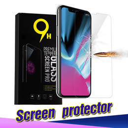 Wholesale Screen Protector Glass Premium - Tempered Glass screen protector for iphone X 0.26mm 2.5D 9H Premium Screen Protector For iPhone X 8 7 with 10pcs box