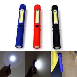 GüNstiger Verkauf Heißer Tragbare Mini Licht Arbeits Inspektion Licht Cob Led Multifunktions Wartung Taschenlampe Hand Taschenlampe Lampe Mit Magnet Notbeleuchtung Professionelle Beleuchtung