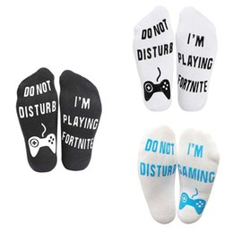*Unisex Novelty Funny Sport Socks DO NOT DISTURB I'M PLAYING Birthday Gamer Gift inexpensive football novelty gifts