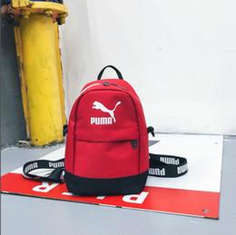 mini mochila multibolsillos Rebajas Modelos de explosión de tendencia 18SS cadena de mini multifunción casual mochila moda salvaje bolsillos de pareja